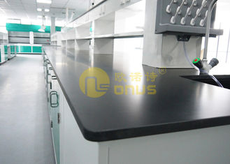 Laboratorium Kimia Biologi Countertops Epoxy Resin Slab Ukuran 2480 * 1530 * 25mm