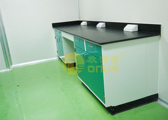 1000 * 750mm Chemical Resistant Table Tops Dengan Kimia / Tahan Panas