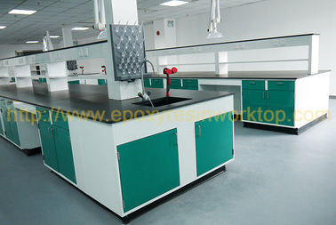 Cuttable laboratorium sains furnitur asam kuat, lab counter tops