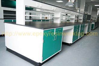 Universitas anti penuaan laboratorium sains pulau bangku epoxy resin tahan kimia countertops