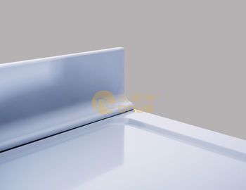 Furniture Laboratorium Epoxy Resin Worktop Dengan Molded Back Splash