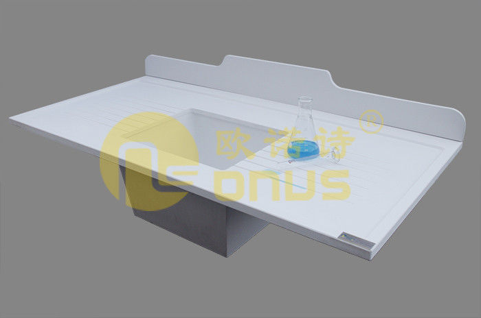 Molded marine edge epoxy undermount sink / Chemicals lab sinks