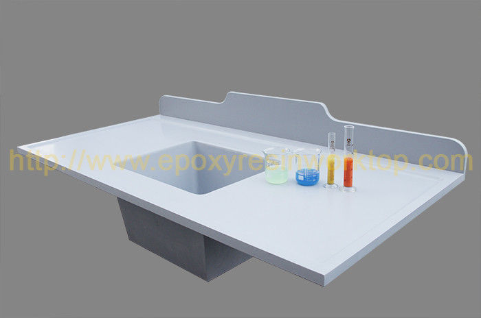 Heat Resistance And Durable Epoxy Resin Benchtop For Hospital Laboratory