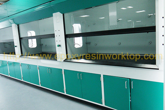 Floor Standing Science Laboratory Furniture epoxy resin chemical resistance