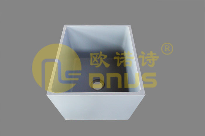 Strong Alkali Resistance Epoxy Resin Sinks For Laboratory Work Bench
