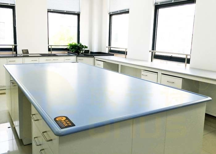 High Performance Laboratory Bench Top , Epoxy Resin Worktop 0.031% Water Absorption