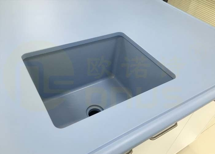 Chemical Resistant Epoxy Resin Laboratory Bench Top With One - Stop Service