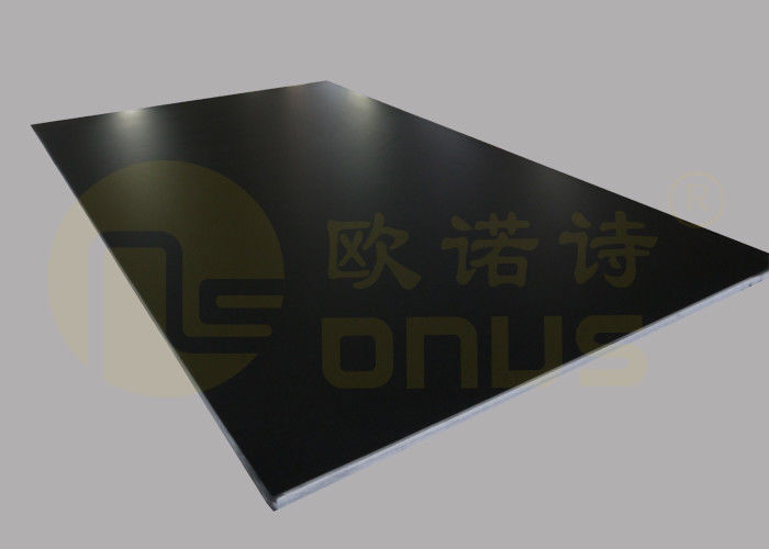 Safety Pharmaceutical Black Epoxy Resin Countertop Glare Or Matte Finish