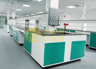 Cina Epoxy Resin Basin Station tahan kimia countertops / lab island bench pabrik